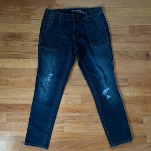 Dark Blue GAP Girlfriend Jeans